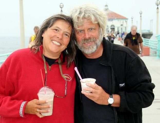 Angelika&Klaus am ManhattenBeachPier