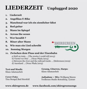 Shiregreen_Liederzeit_Trackliste