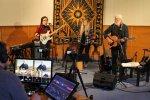 Live-Aufnahme im Licheröder Pavillon